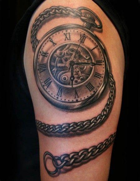 tatuajes de relojes antiguos para mujeres , Buscar con Google