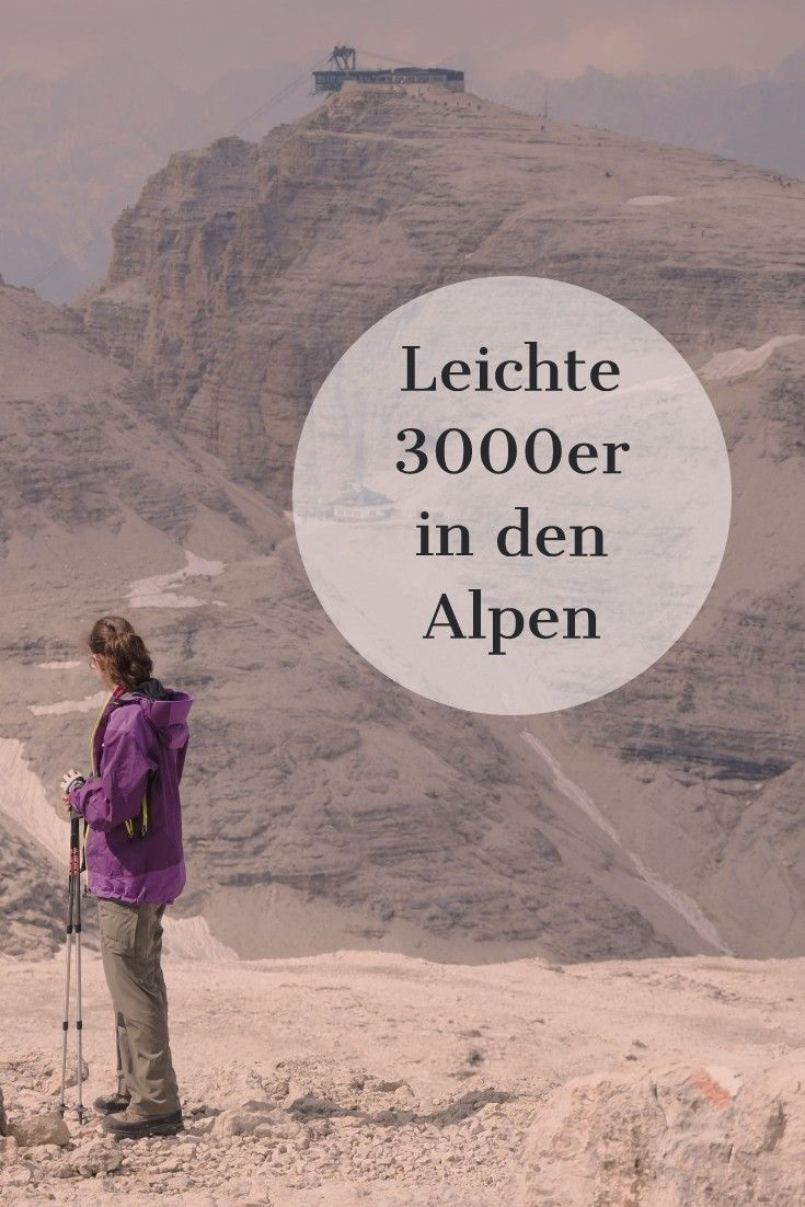 Photo of Light 3000s, the summit of which can be climbed in a normal mountain hike …