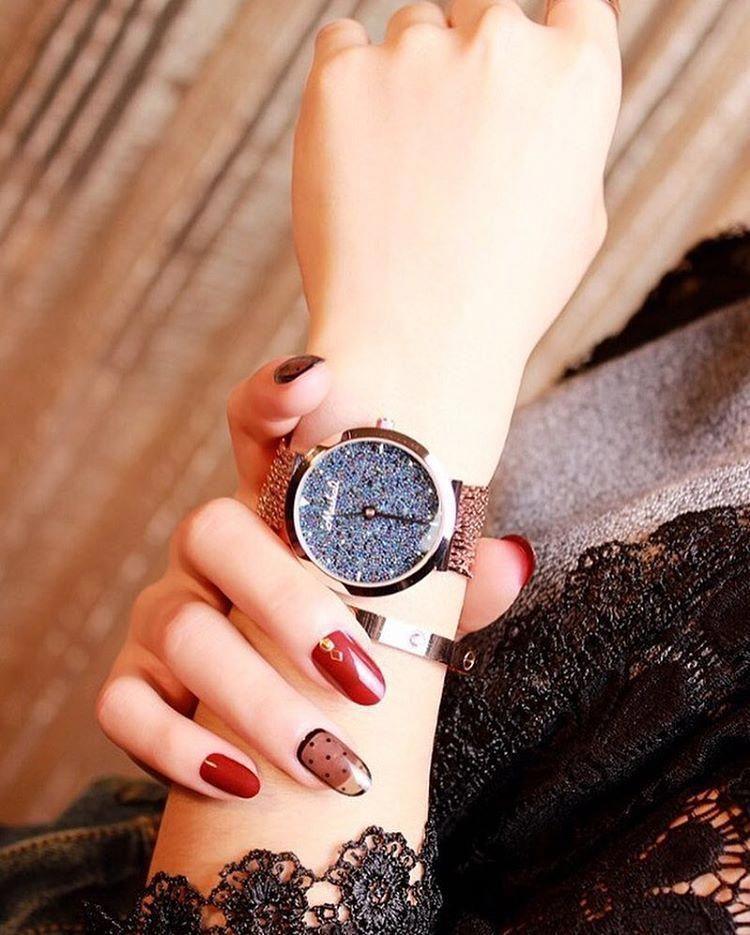 Consulta Esta Foto De Instagram De Nailsvideo Z 37 Mil Me Gusta Girls Watches Beautiful Watches Stylish Girl