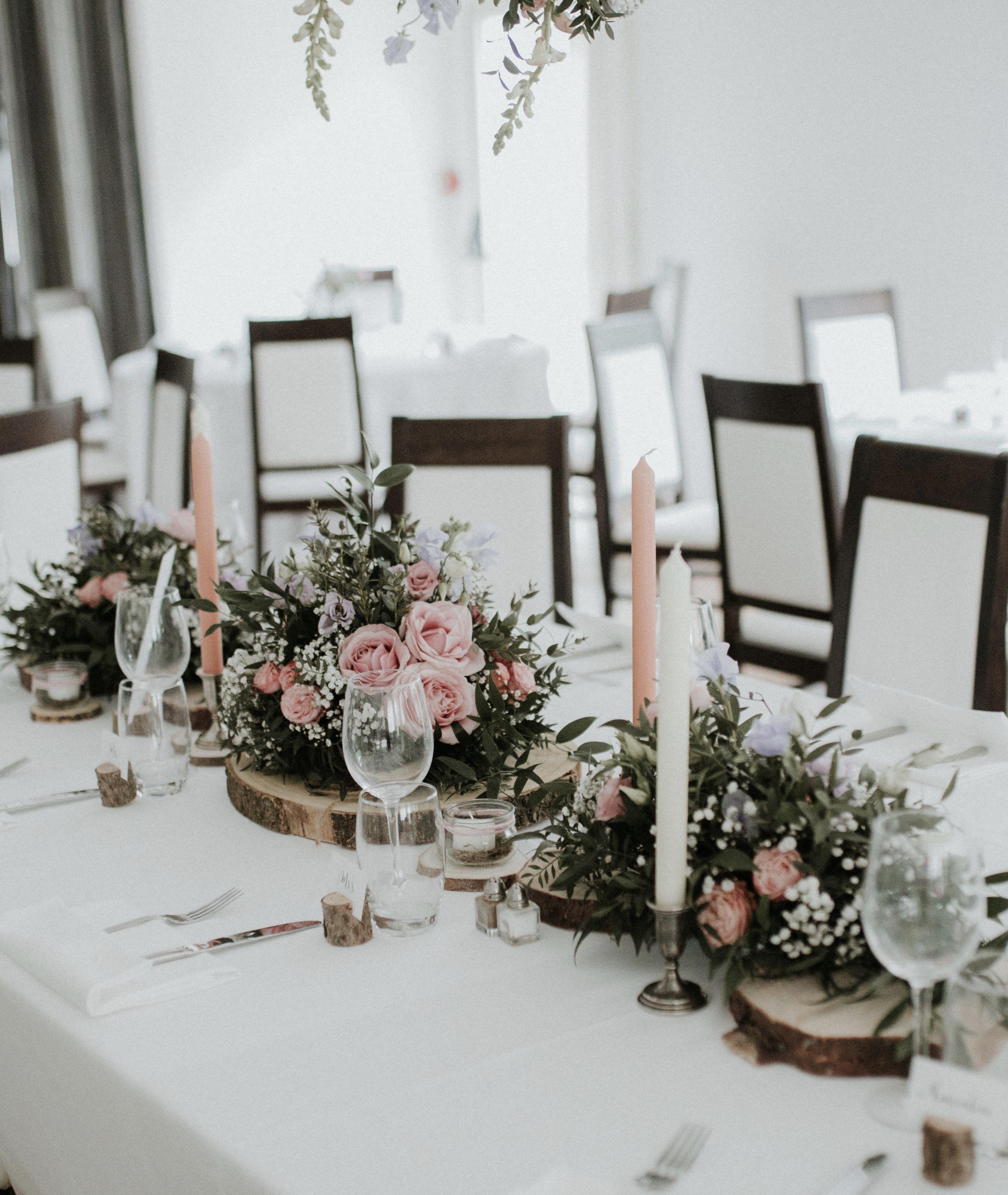 Table D Honneur Mariage Champetre Chic Nous Gypsophile Et Rose
