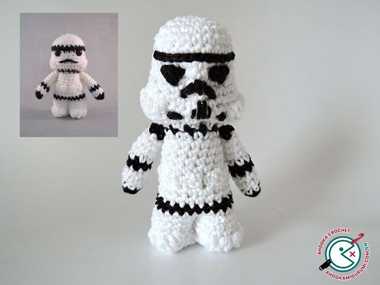 star wars crochet part2 by ahooka | Star wars | Pinterest
