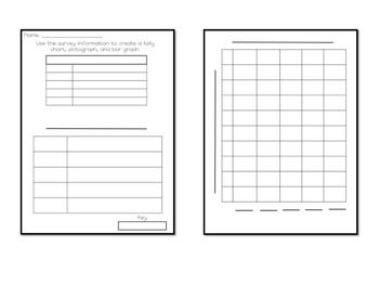Once A Survey Has Been Given Students Can Use This Worksheet To