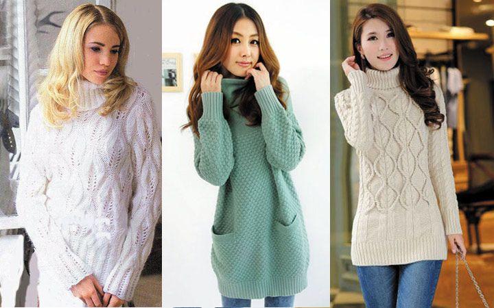 модные свитера осень зима 2017 2018 фото модная одежда из денима