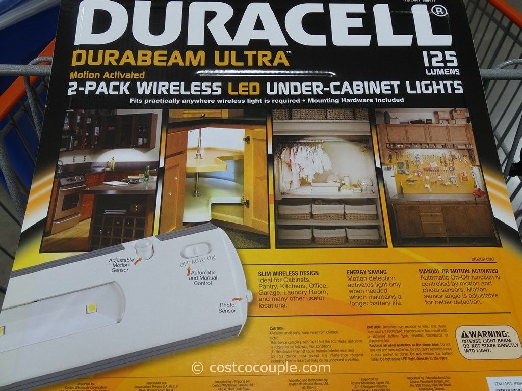duracell led under cabinet lights
