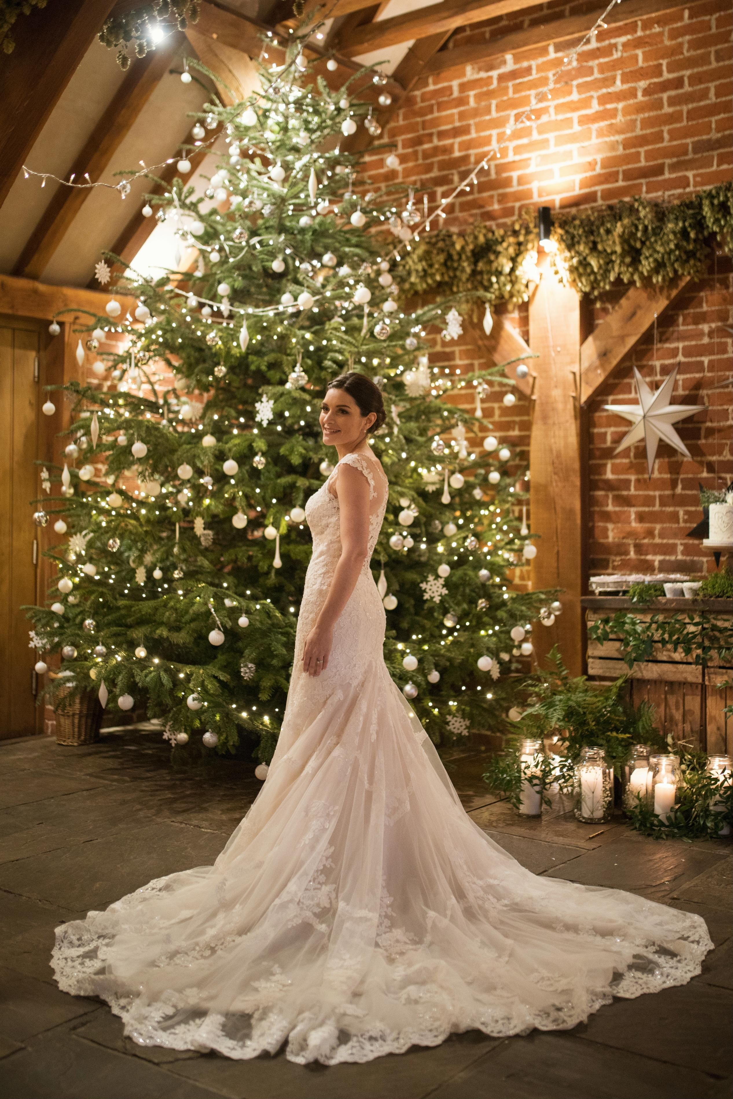 The dress, The Christmas tree, the light !! The most
