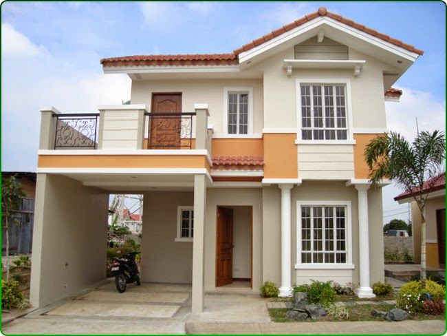 Planning To Build Your Own House Check Out The Photos Of These Beautiful 2 Storey Hou 2 Storey House Design Small House Design Philippines Simple House Design