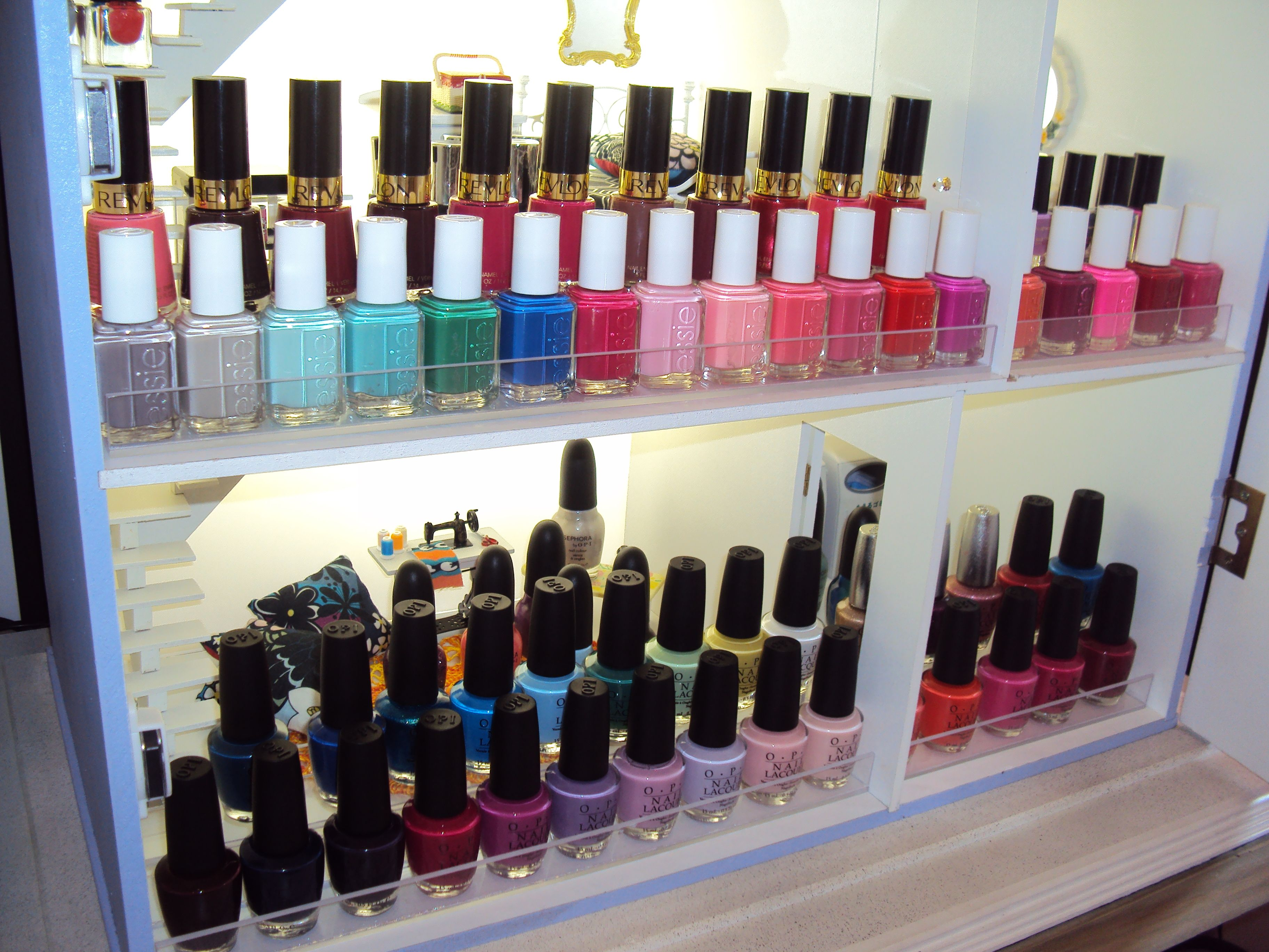 Essie OPI | Nail Polish Storage | Pinterest | Nail polish storage ...