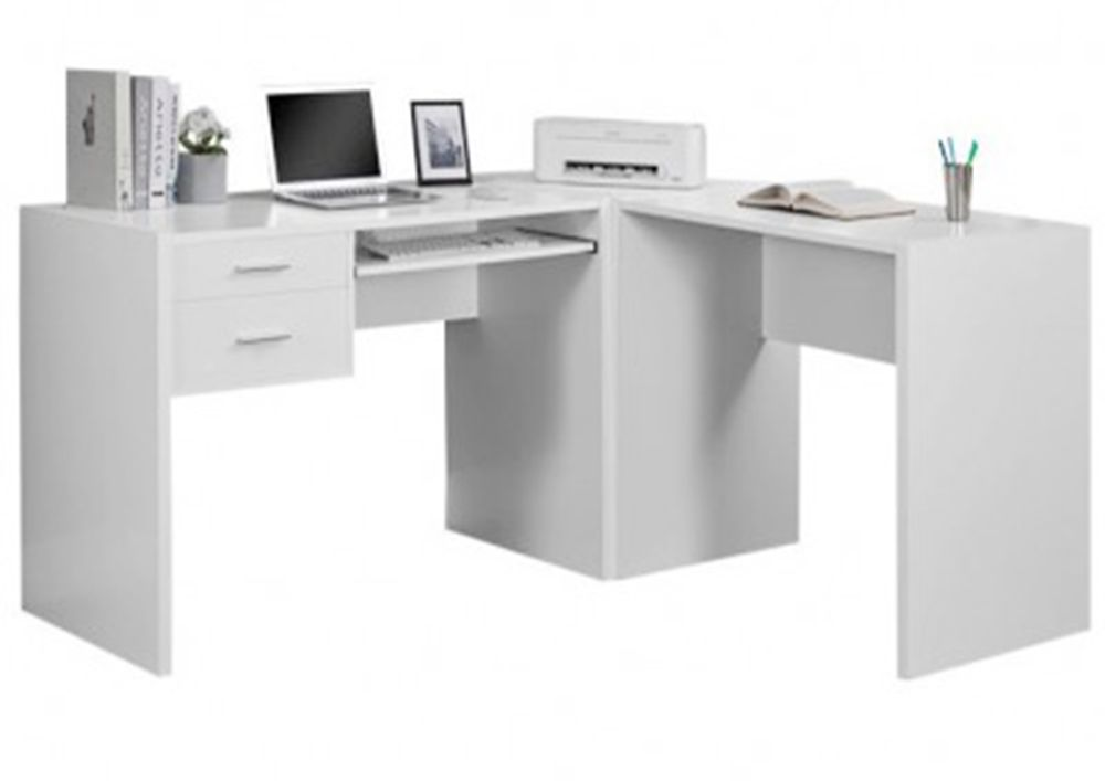 The Office Table Made Up Of Plywood With Laminate Finish Consisting 2 Drawers With Keyboard Tray It Adds Modern Office Table Design Desk Office Table Design
