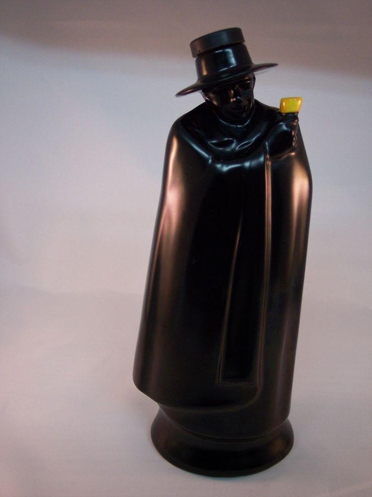 Vintage Royal Doulton Sandeman Don Man Black Cape Figurine Bottle Decanter #RoyalDoulton