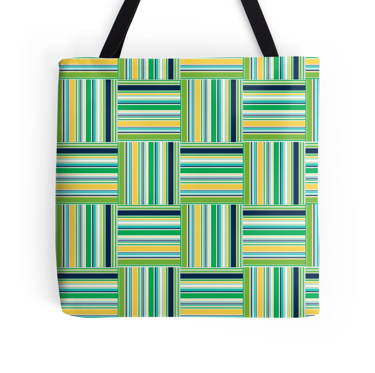 Grass Plaid small tote Available at www.redbubble.com  http://www.redbubble.com/people/crycepaul/works/11945014-grass-plaid?p=tote-bag