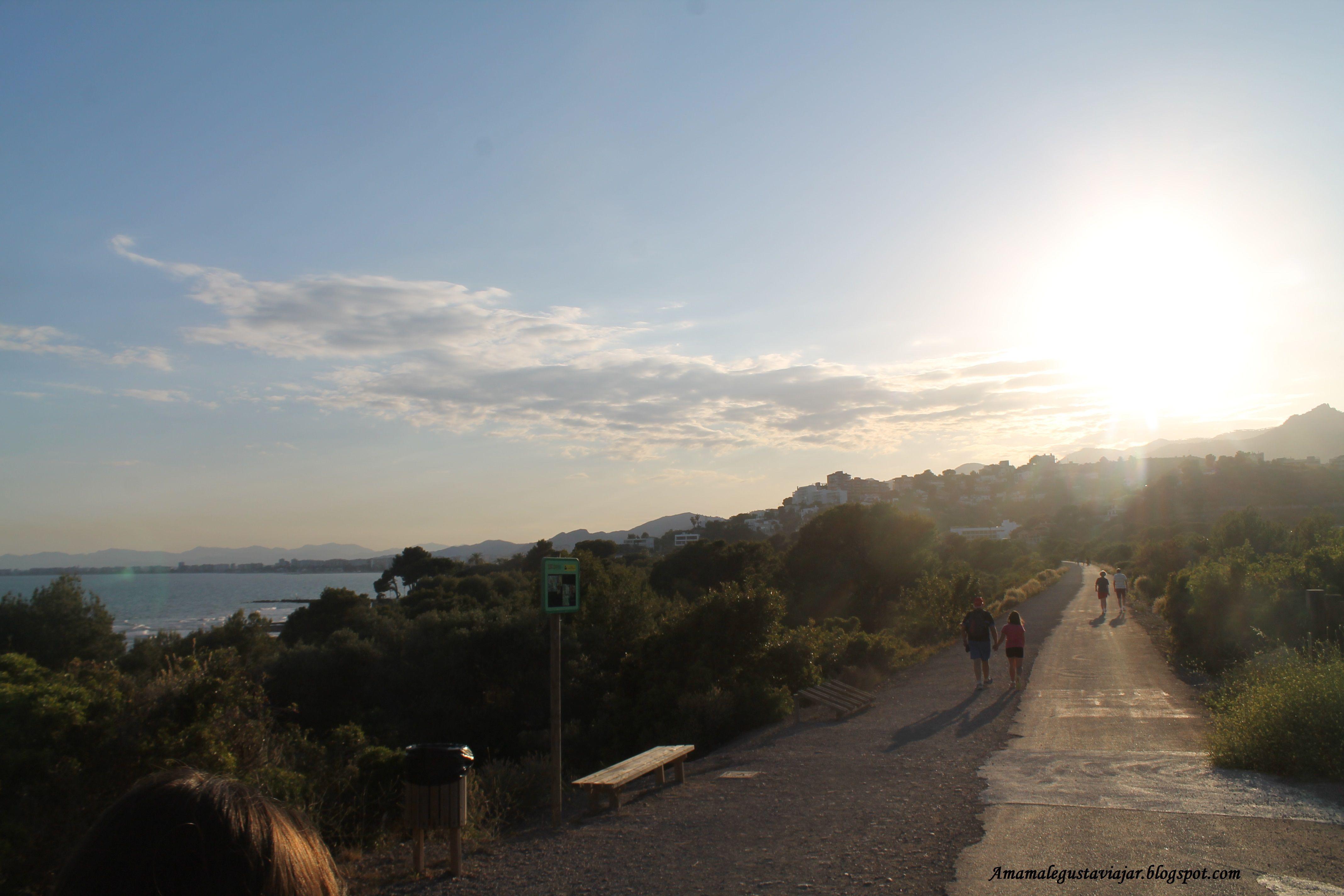 Atardecer En La Vía Verde Oropesa Del Mar Benicasim Sunset Outdoor Celestial