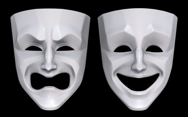 Image result for theatre masks