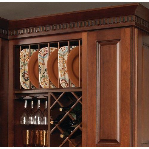 Hafele Wooden Plate Rack Cabinet Accessory - Maple 541.98.160 #plateracks