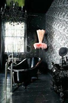 Best Images Photos And Pictures Gallery About Gothic Bathroom
