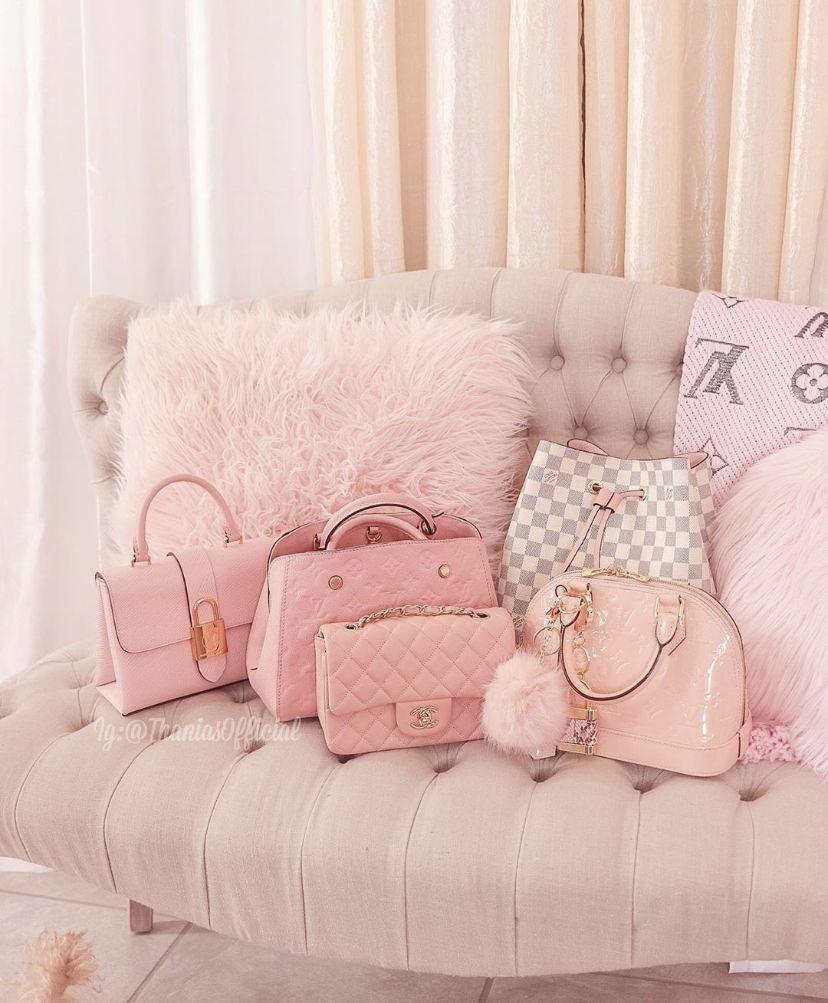 Pinterest Mikakelseytuttle Baby Pink Aesthetic Pink Girly Things Pink Walls Luxury pink aesthetic room
