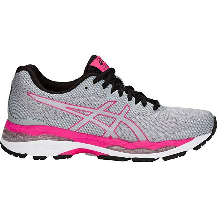 ASICS 1012A014 Women's Gel Ziruss 2 Running Shoe, Mid Grey
