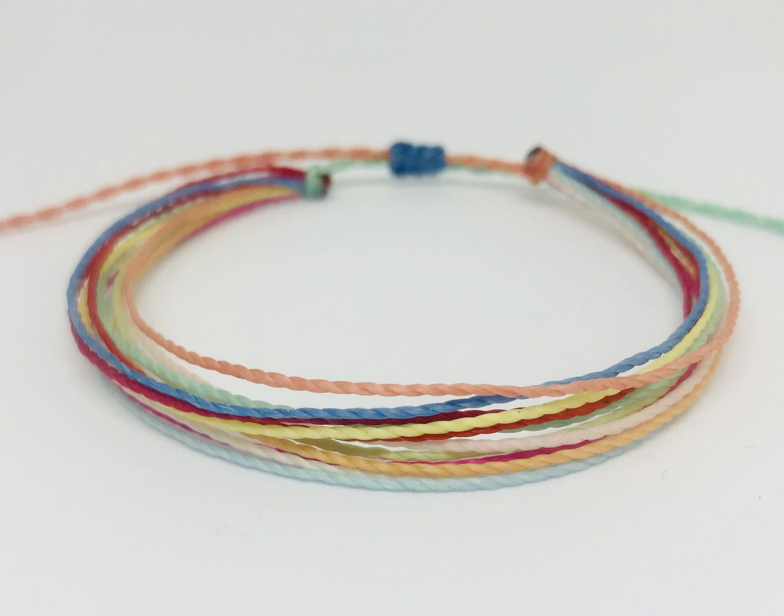 friendship diy anklet bracelets thread style watch martha youtube string stewart wrapped