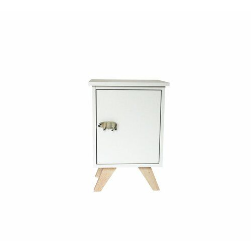 Bikes Bazaar Piggy Bedside Table Table Side Table With Storage