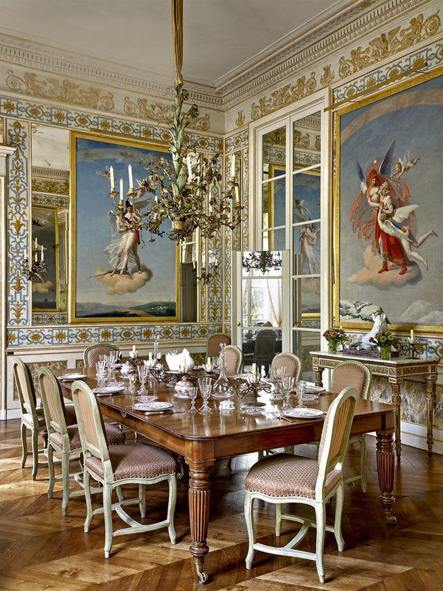 Le duplex parisien de Pierre Bergé Pinterest Antique decor, Room