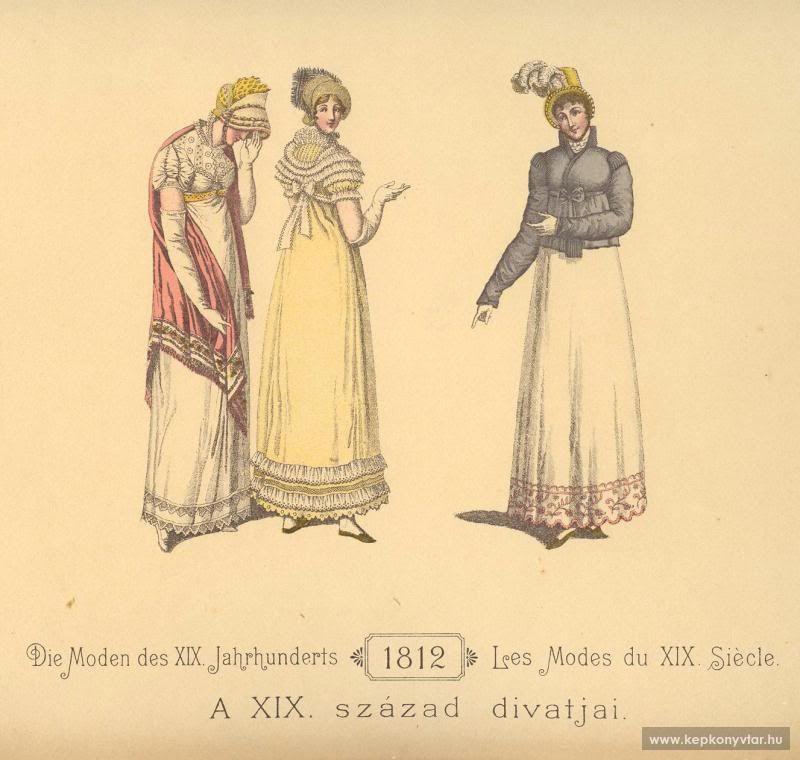 lamodeillustree: 19th century fashion - Part I.