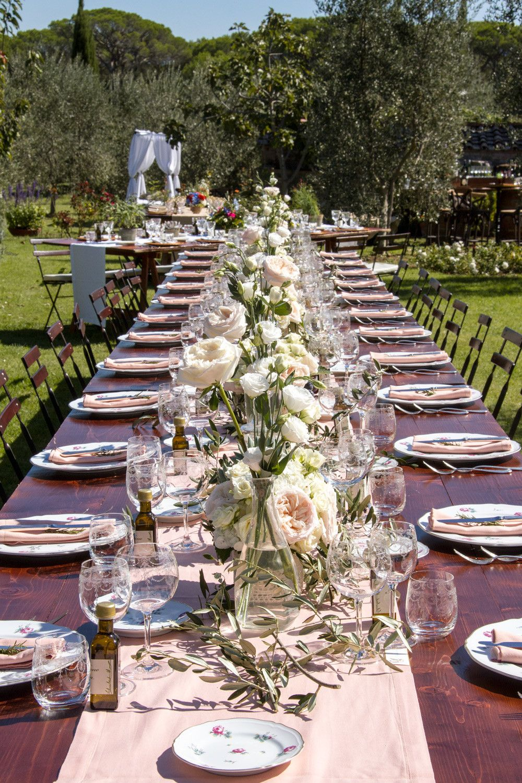 Preludio noleggio attrezzature per matrimoni catering ed eventi speciali piatti preludio - Composizioni floreali per tavoli ...