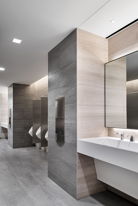 Office Bathroom Decor Ideas: New York, NY Through Close Collaboration With The Turner