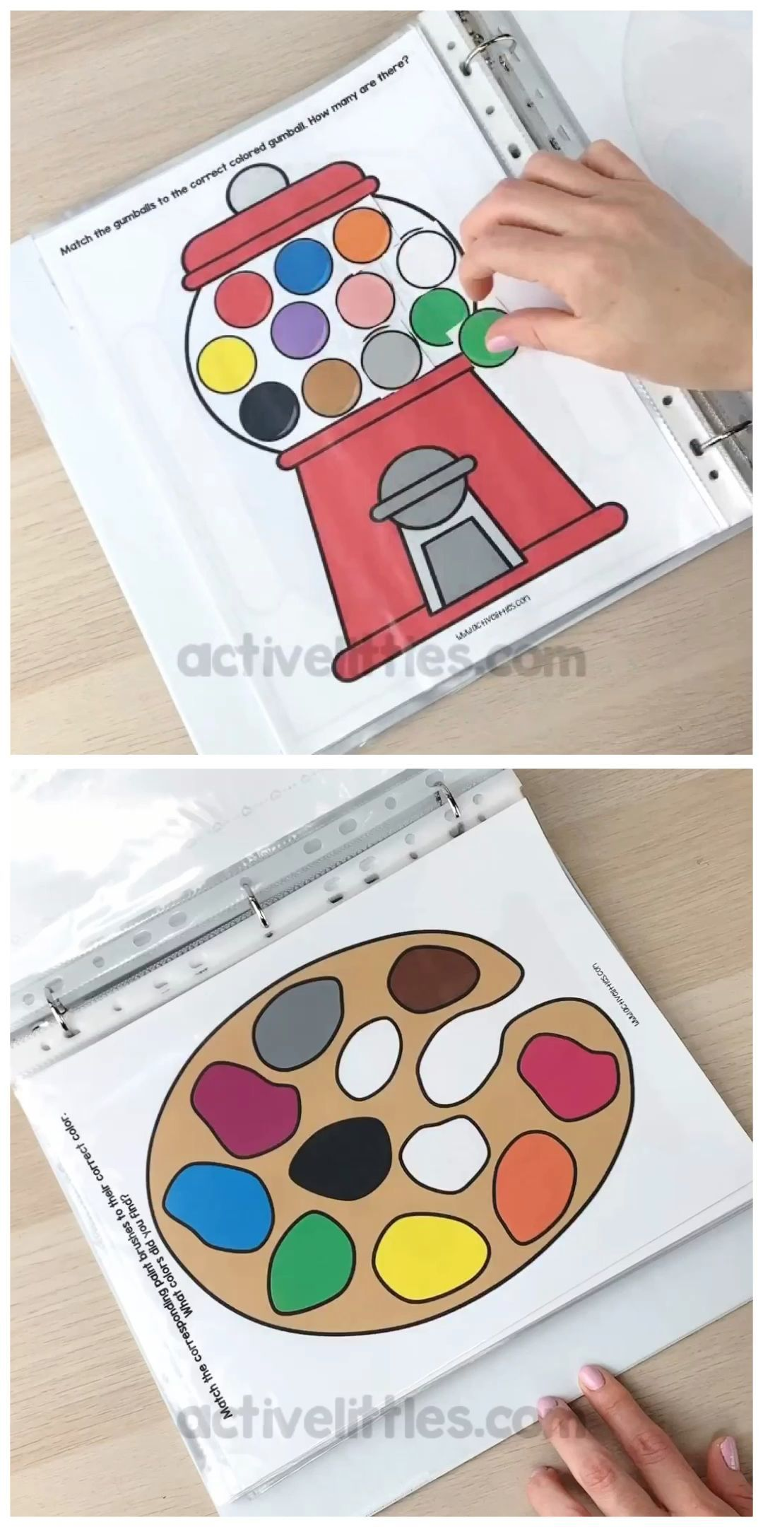Preschool Quiet Book Printable