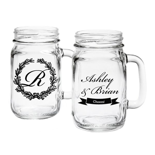 Personalized Mason Jar Drinking Gl Exclusive