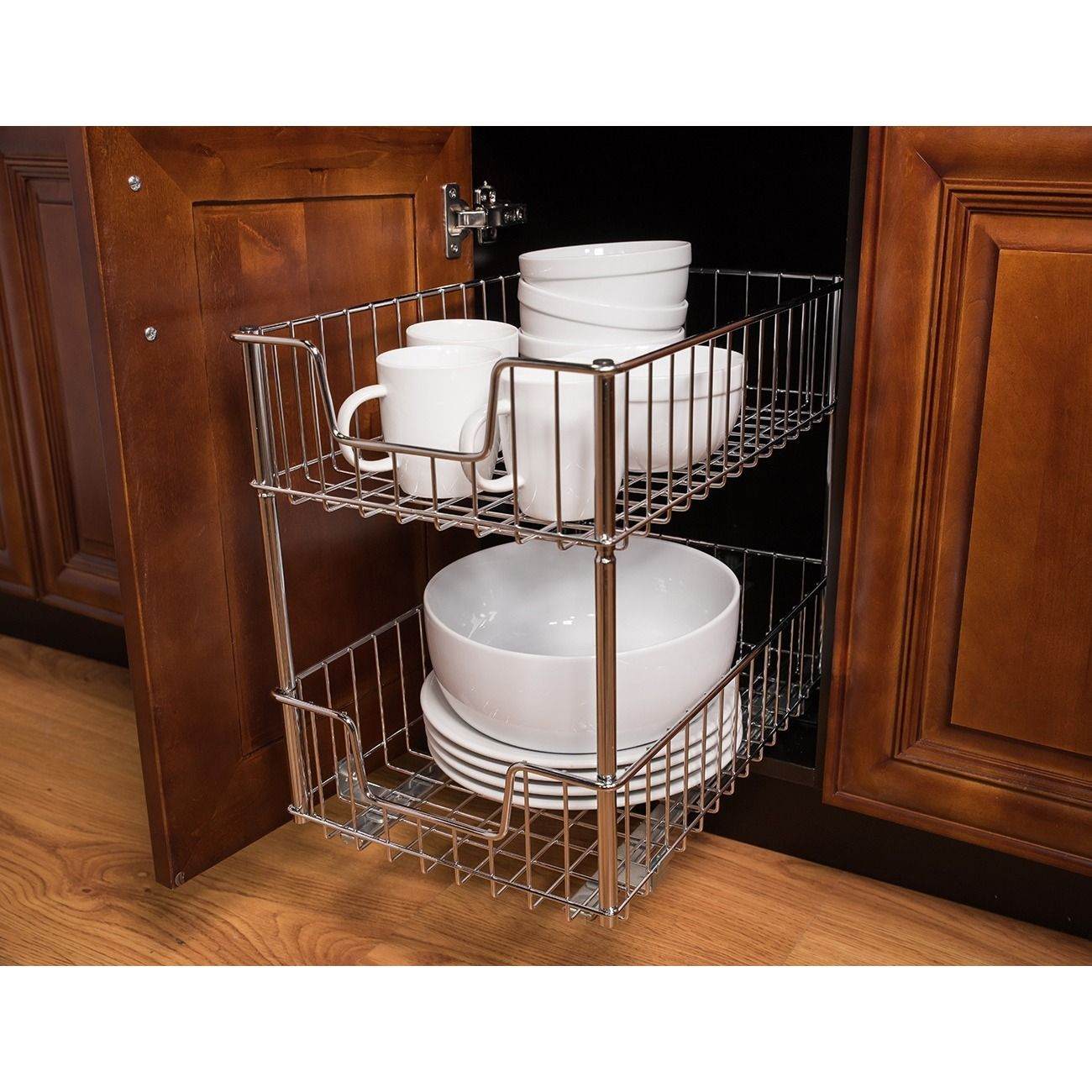 Small kitchen table and 2 chairs  Trinity EcoStorage tier Wire Drawers Trinity EcoStorage Tier