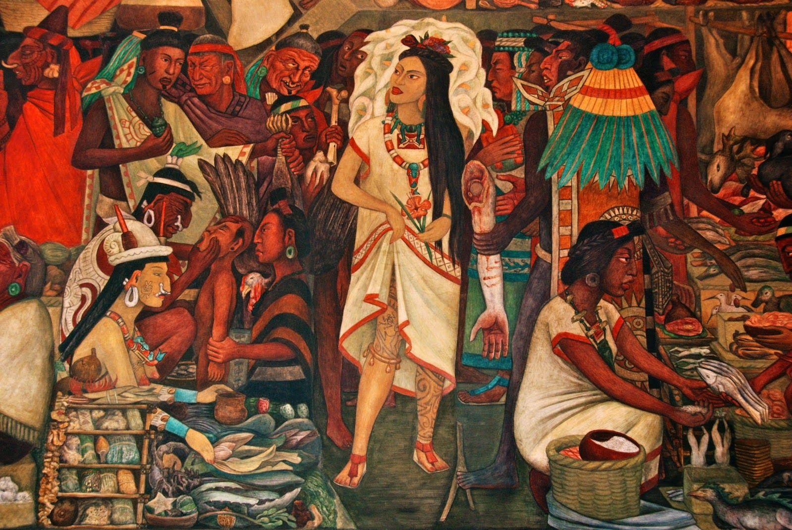 Diego Rivera: La Malinche