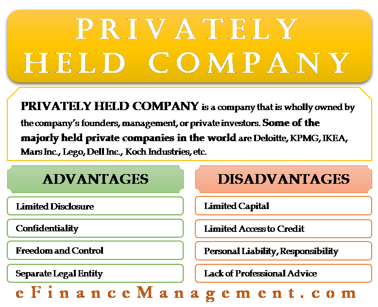 Privately Held Company Accounting And Finance Business Tax