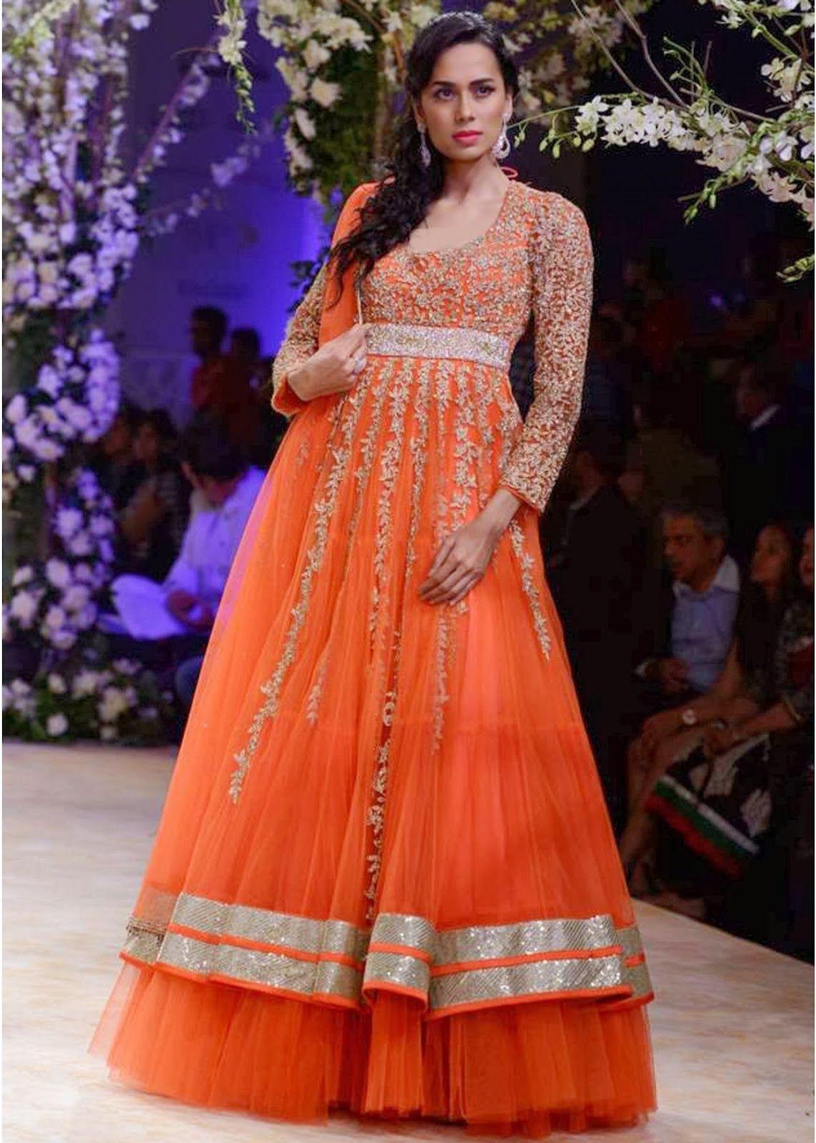 Most latest india bridal fashion week lehenga
