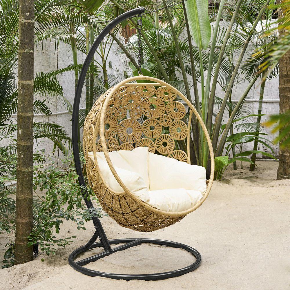 fauteuil suspendu de jardin en 2019 salon de jardin et. Black Bedroom Furniture Sets. Home Design Ideas