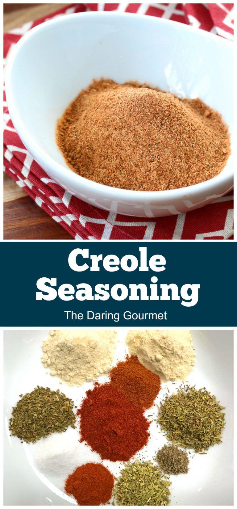 Creole Seasoning Recipe The Daring Gourmet Recipe In 2020 Creole Seasoning Seasoning Recipes Creole Recipes
