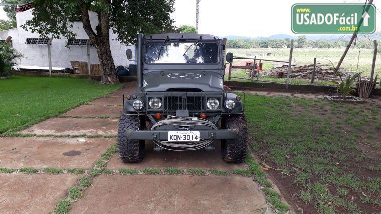 Veiculo A Venda Toyota Jeep Toyota Bandeirante Xingu Militar 1989