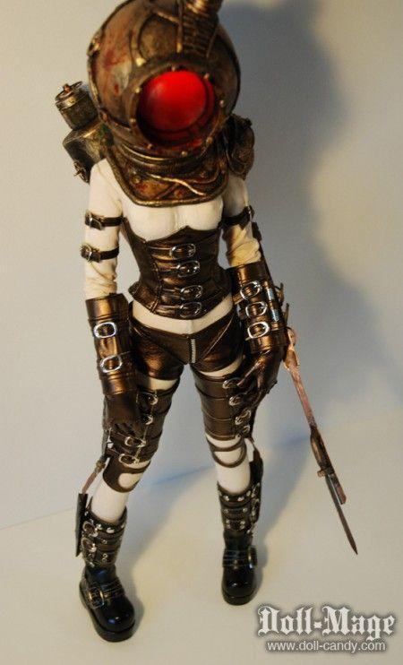 BioShock Big Sister Custom Doll.