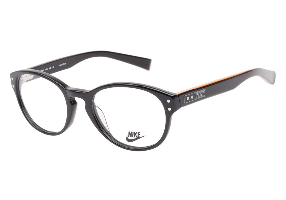d7268d2cee This adventurous round frame features a classic keyhole cutout at the  bridge and silver stud accents at the outer corners. The temples have ...