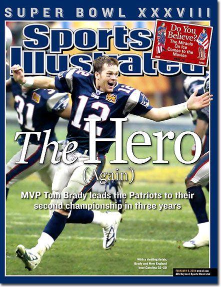 4d470ade6ed February 9, 2004 - The New England Patriots, Superbowl XXXVIII Champions.