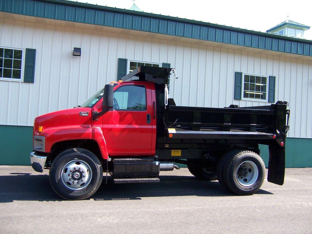 GMC TopKick C7500 | GMC | Gmc trucks, Dump trucks, Semi trucks