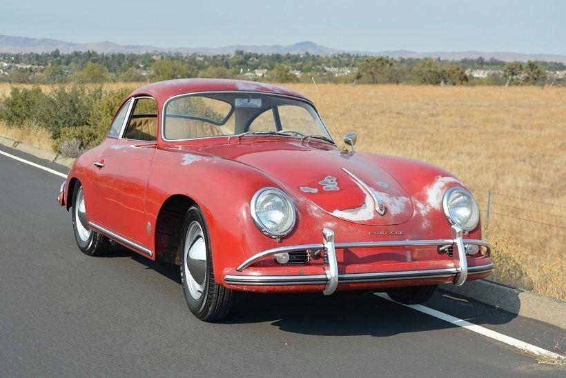 1959 Porsche 356 356A RUBY RED