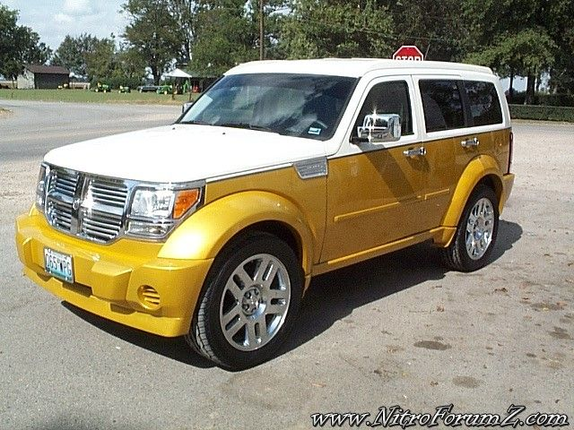 Dodge Nitro Custom Paint Dodge Nitro Dodge Magnum Muscle Truck