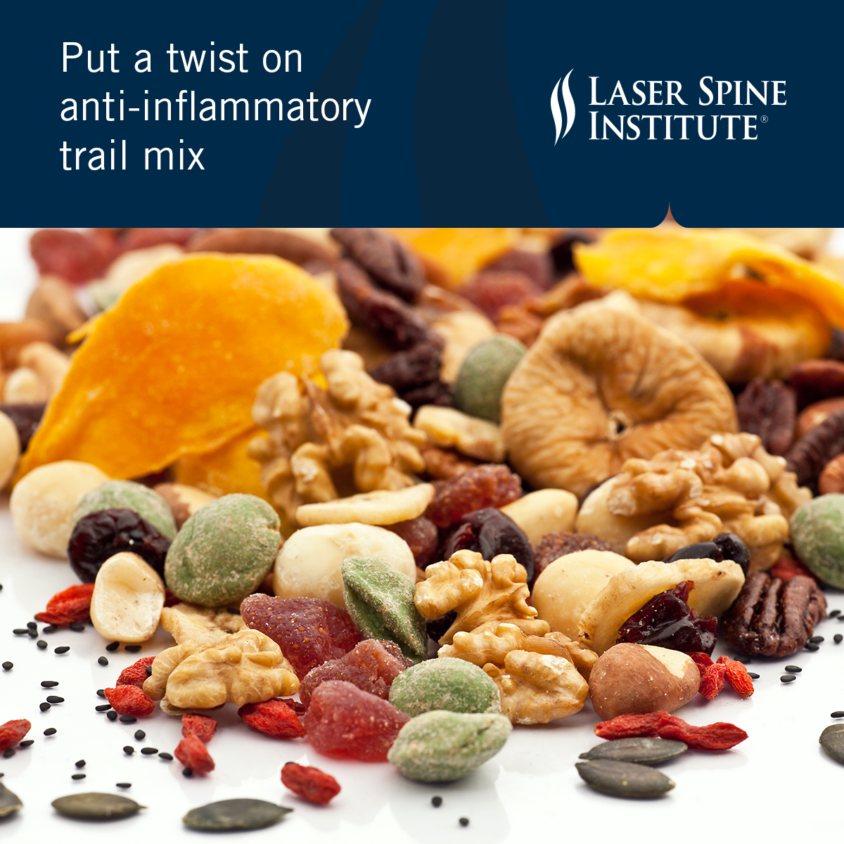 Anti-inflammatory trail mix