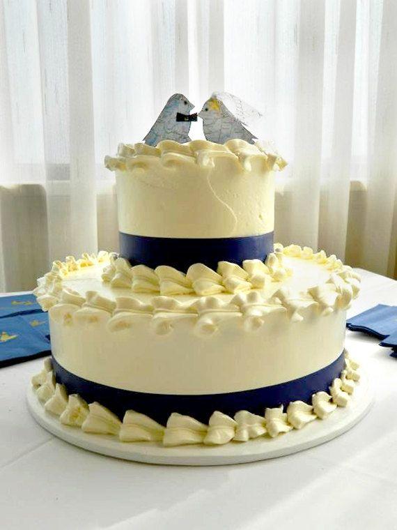 Ready to Ship Wedding cake topper, map love birds, eco-friendly ...