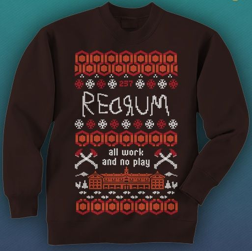 Gift Guide: 'The Shining' Ugly Christmas Sweater | Creepmas ...