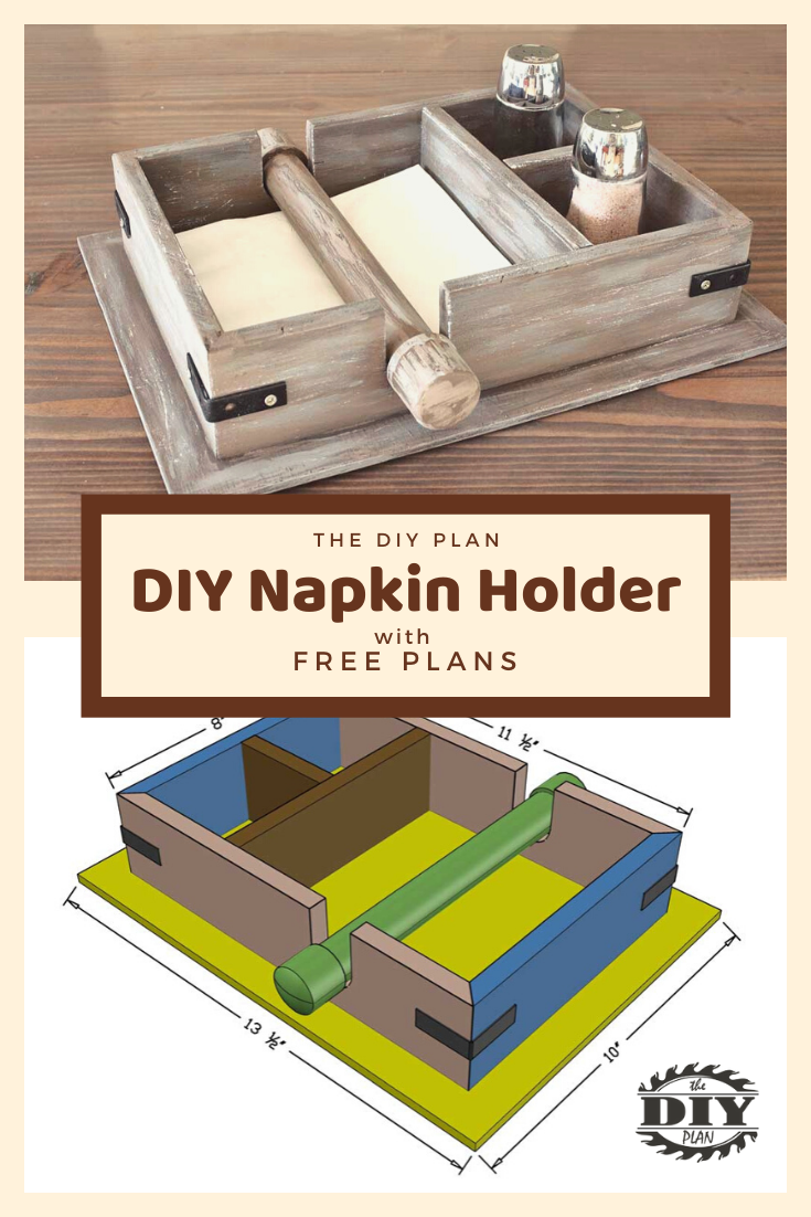 DIY Napkin Holder | TheDIYPlan