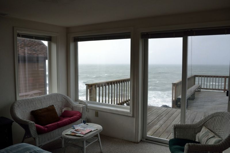 Depoe Bay Als Lodging Oceanfront House Whale Pointe Oregon Beach