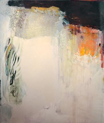 The silence of buzz, 2012  72 x 60 in  acrylic by Cheryl Hazen.