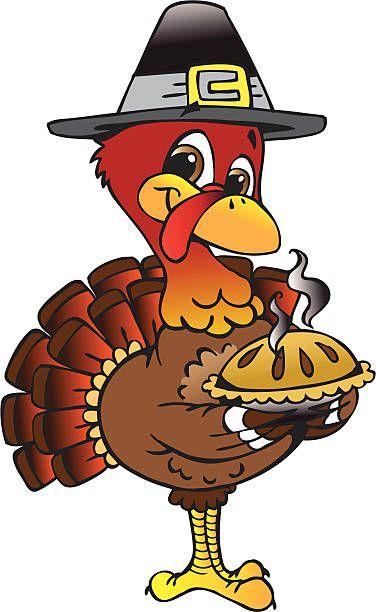 Pilgrim Turkey With Pie | Thanksgiving turkey images ... (376 x 612 Pixel)