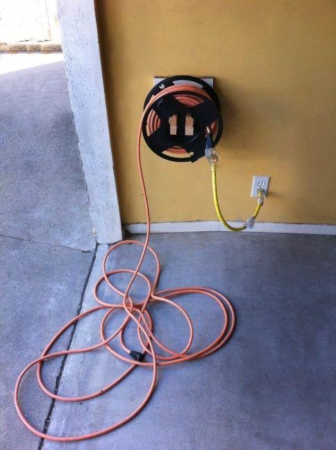 Une Bonne Façon De Ranger Et De Se Servir De La Rallonge électrique!