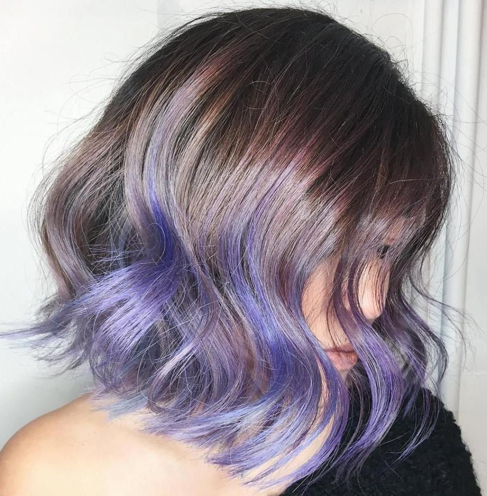 50 Cool Ideas Of Lavender Ombre Hair And Purple Ombre Lavender Hair Ombre Short Purple Hair Purple Ombre Hair